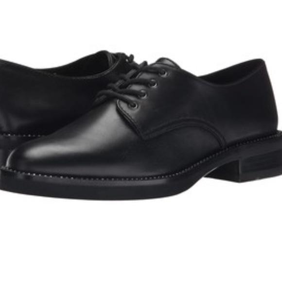 Womens Shoes COACH Erica Black Box Calf
